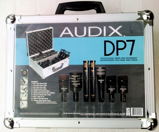 AUDIX DP7 DRUM MIC KIT
